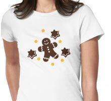 Lebkuchen gingerbread cookies Womens Fitted T-Shirt