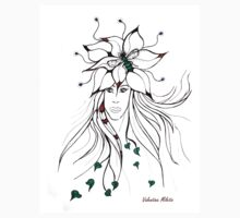 Earth Woman 5 - drawing by Valentina Miletic T-Shirt