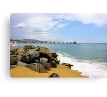 Las Playas de Espana Canvas Print