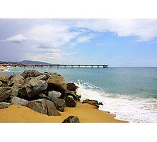 Las Playas de Espana Photographic Print