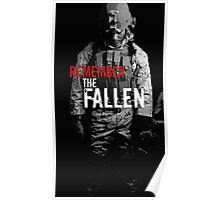 Remember the Fallen (RED) Poster