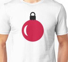Christmas tree ball ornament Unisex T-Shirt