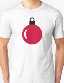 Christmas tree ball ornament T-Shirt