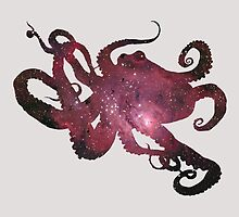 Octopus in Space by Christian Petersen