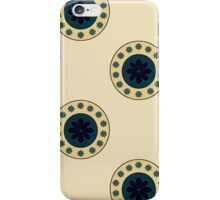 Antique Circles on Parchment  iPhone Case/Skin