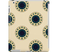 Antique Circles on Parchment  iPad Case/Skin