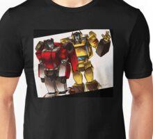 sideswipe & sunstreaker Unisex T-Shirt
