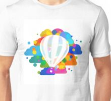 Balloon in colors Unisex T-Shirt