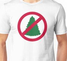 No christmas fir tree Unisex T-Shirt