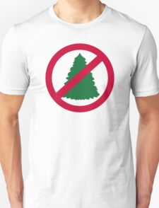 No christmas fir tree T-Shirt