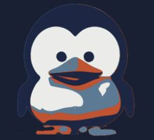 Linux Baby Tux II One Piece - Long Sleeve
