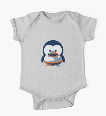 Linux Baby Tux II One Piece - Short Sleeve