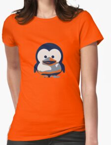 Linux Baby Tux II Womens Fitted T-Shirt