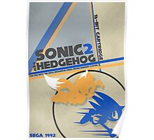 Megadrive - Sonic the Hedgehog 2 Poster