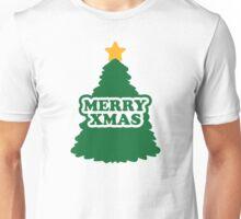 Merry xmas christmas tree Unisex T-Shirt