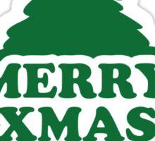 Merry xmas christmas tree Sticker