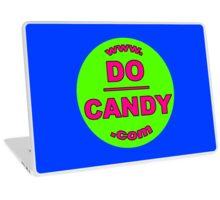 "Do Candy - ""Abuse Awareness via Art"" - Green/Pink Logo Laptop Skin"