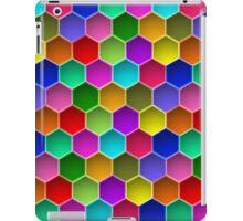 Multi-colored Hexagon Pattern iPad Case/Skin