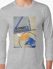 Megadrive - Sonic the Hedgehog 2 Long Sleeve T-Shirt