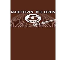 Mudtown Records - Fifth Anniversary Rectangle Photographic Print