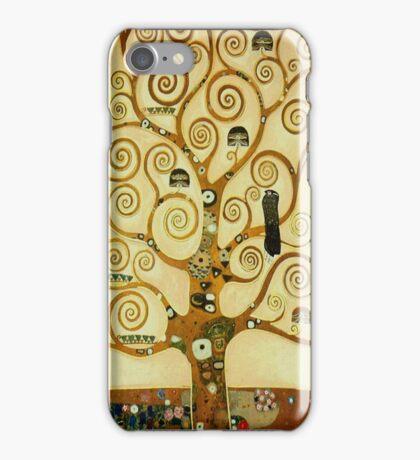 Gustav Klimt The Tree of Life iPhone Case/Skin