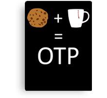 Cookie + Mug = OTP (Carmilla) Canvas Print