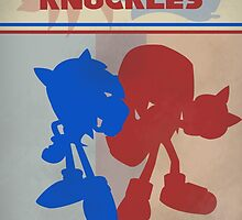 Megadrive - Sonic and Knuckles by CuriousityShop