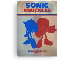 Megadrive - Sonic and Knuckles Canvas Print