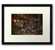 Steampunk - Final inspection 1915 Framed Print