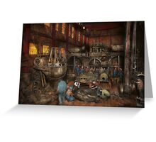 Steampunk - Final inspection 1915 Greeting Card
