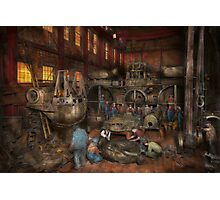Steampunk - Final inspection 1915 Photographic Print