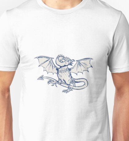 Basilisk Crowing Unisex T-Shirt