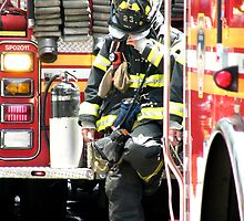 New York Firefighter by Samantha Mooney