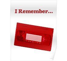 I Remember... VHS Poster