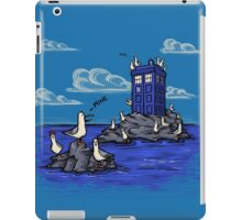 The Seagulls have the Phonebox iPad Case/Skin