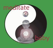 Meditate Baby  by Paul Rumsey