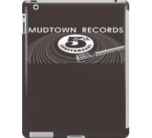 Mudtown Records - Fifth Anniversary Rectangle iPad Case/Skin