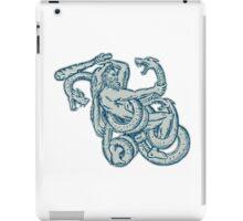 Hercules Fighting Hydra Club iPad Case/Skin