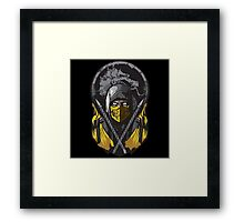 Scorpion Mortal Kombat Framed Print