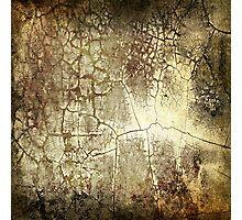 Brown Crackle Photographic Print