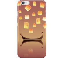 Tangled Lanterns iPhone Case/Skin