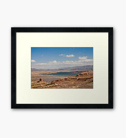 Lake Mead Framed Print