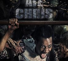 Everybody ate Chris( The Walking Dead ) by DinoShock
