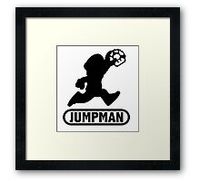 Jumpman Framed Print