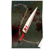 Mononoke Minimalistic Poster Poster