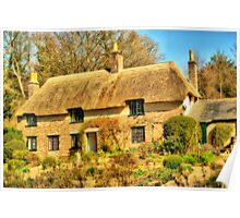Thomas Hardy's Cottage Poster