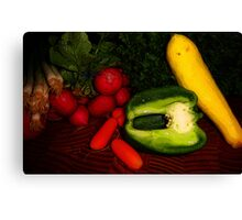 Eat Your Veggies! Canvas Print