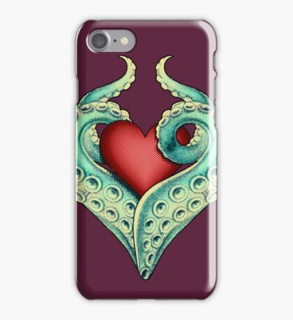 Tentacle Love iPhone Case/Skin