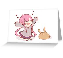 Miria Nikki Chibi Future Diary Greeting Card