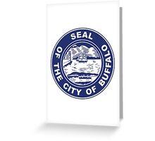 Seal of Buffalo, New York  Greeting Card
